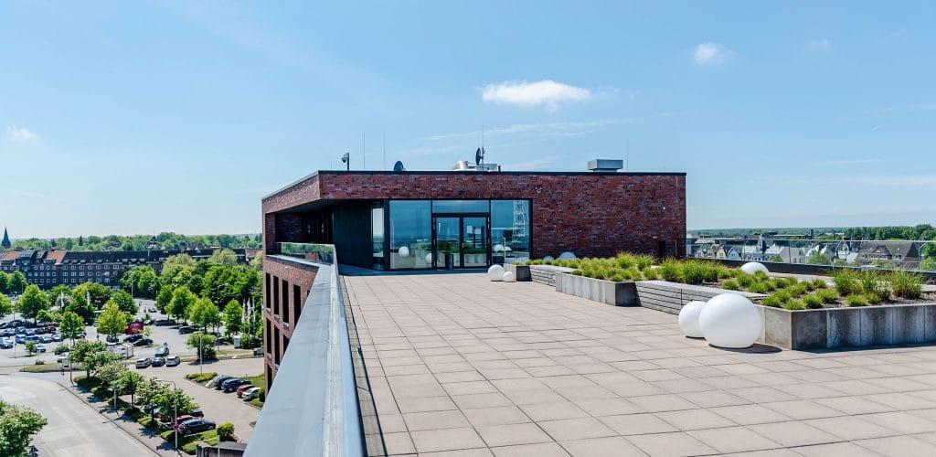 Sonnendeck Seminarraum Tagungsraum Luv + Lee havenhostel Cuxhaven